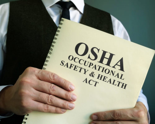 OSHA Occupational Safety & Health Act book, OSHA, OSHA standards, OSHA regulations, OSHA regulator MA, industrial services Massachusetts